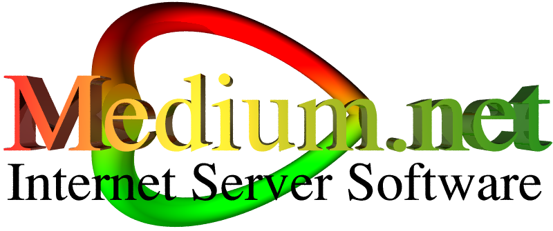 Medium.net Internet Server Software Logo